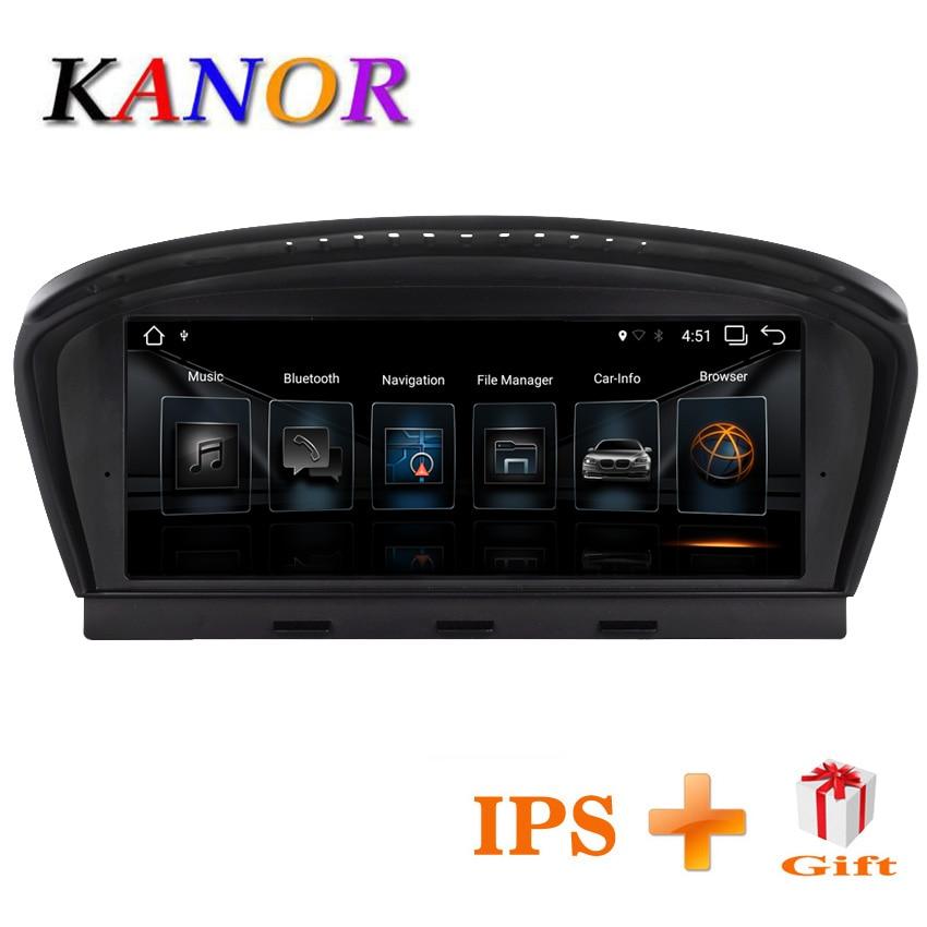 KANOR 8.8 pollici 2g + 32g Android 7.1 radiofonico auto lettore multimediale per BMW 5 Serie E60 E61 e63 E64 E90 E91 E92 CCC CIC sistema