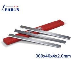LEABON TCT wkładka drewna ze stopu noże strugarskie 300x40x4x2.0 narzędzia do obróbki drewna akcesoria/frez strugarka /do obróbki drewna ostrze w Części do maszyn do obróbki drewna od Narzędzia na