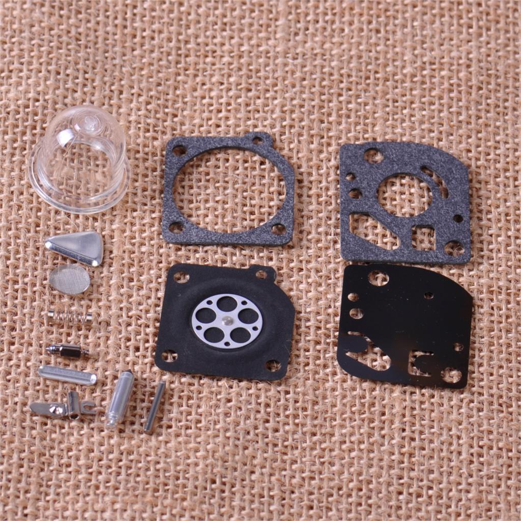 LETAOSK Carburetor Repair Rebuild Carb Kit Fit For Zama RB-47 Poulan WeedEater Craftsman Trimmers Carb