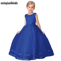 Retail 2017 New Arrival Summer Flower Girl Dress For Baby Girl Weddings Party Dress Girl Clothes
