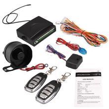 Sistema de Entrada Sin Llave Sistema de Seguridad de la Sirena de Alarma de Coche Universal caliente Kit Cierre Centralizado Mando a distancia + 2 Mandos A Distancia Nuevo