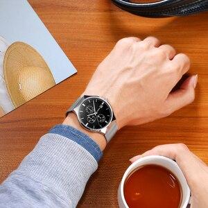 Image 5 - 2018 新 GUANQIN トップブランドの高級メンズビジネスクロノグラフメッシュストラップ時計メンズファッションフルスチールクォーツ手首時計