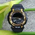 Marca de topo Mens Relógios Desportivos LED Relógio Digital Moda Ao Ar Livre das Mulheres À Prova D' Água relógios de Pulso Reloj Hombre Erkek Kol Saati