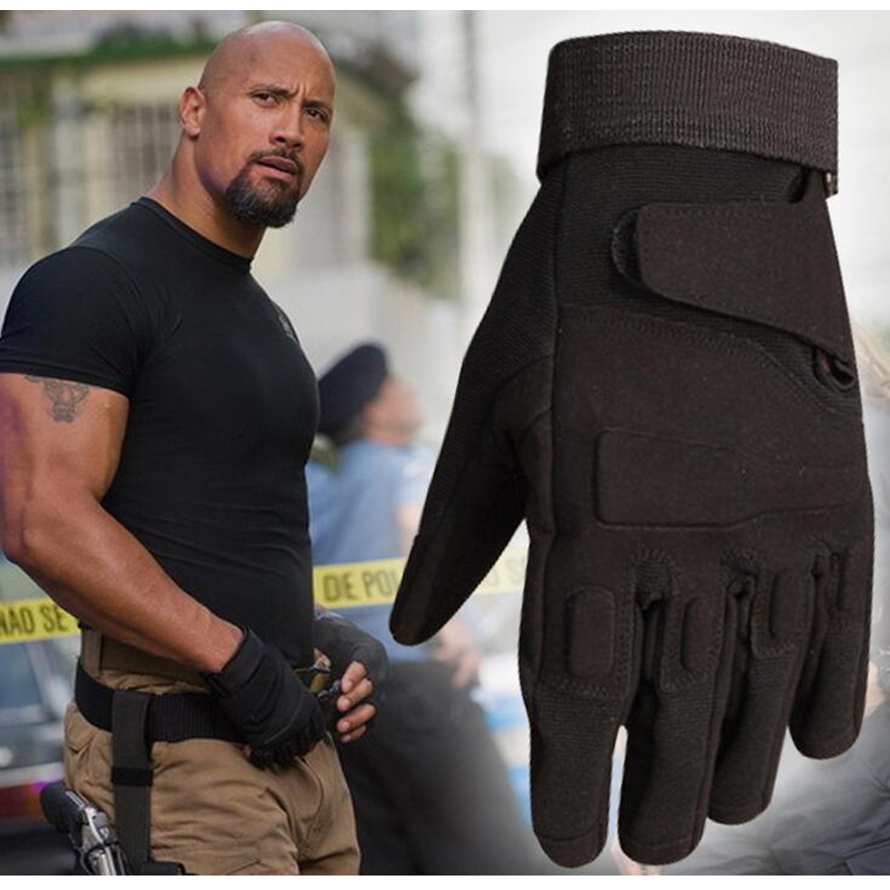 Men's Protective Full Finger / Fingerless Tactical Gloves Outdoor Military Army Combat Gloves Riding Hiking Fitness Gloves