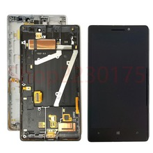 For Nokia Lumia 930 RM-1045 LCD Display Touch Screen Digitizer Assembly Frame Replacement Parts цена