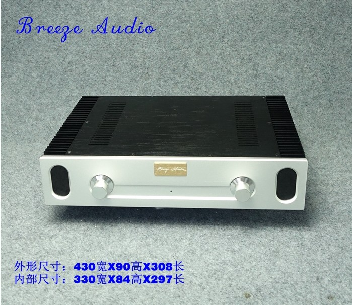 Breeze audio aluminum chassis/case BZ430905 breeze audio diy aluminum chassis power