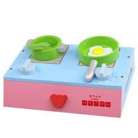 Baby Classic pretend play wooden Kitchen food Cooking toys play miniature kitchen set Cutting fruit and vegetable toy XWJ305