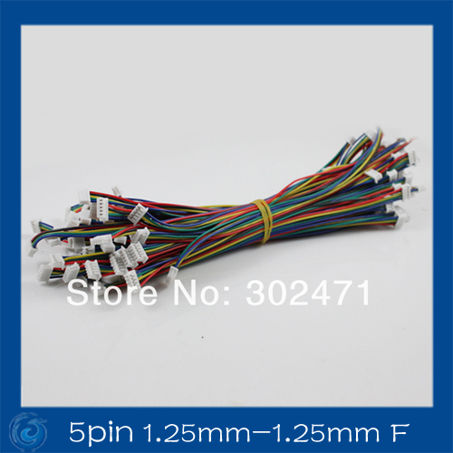 5-Pin  Plug With Wires Cables 150MM 5pinCable