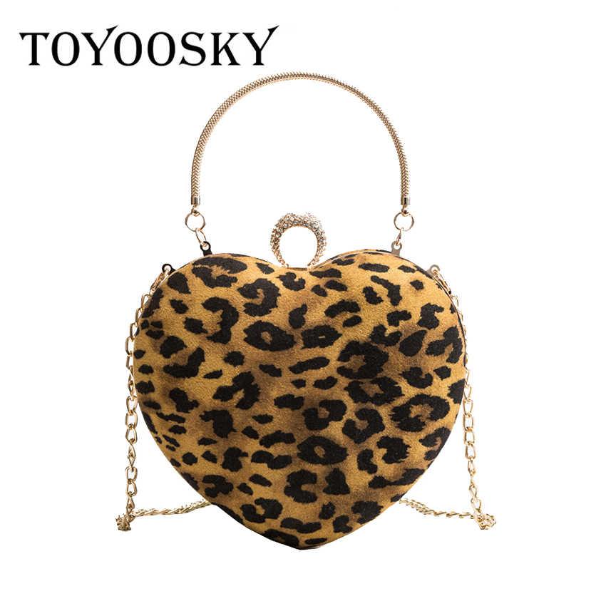 51271e37c45a TOYOOSKY Newest Leopard Woman Bag 2018 Fashion Shoulder Bags Women Velour  Leather Handbags Ladies Bolsas Handbag
