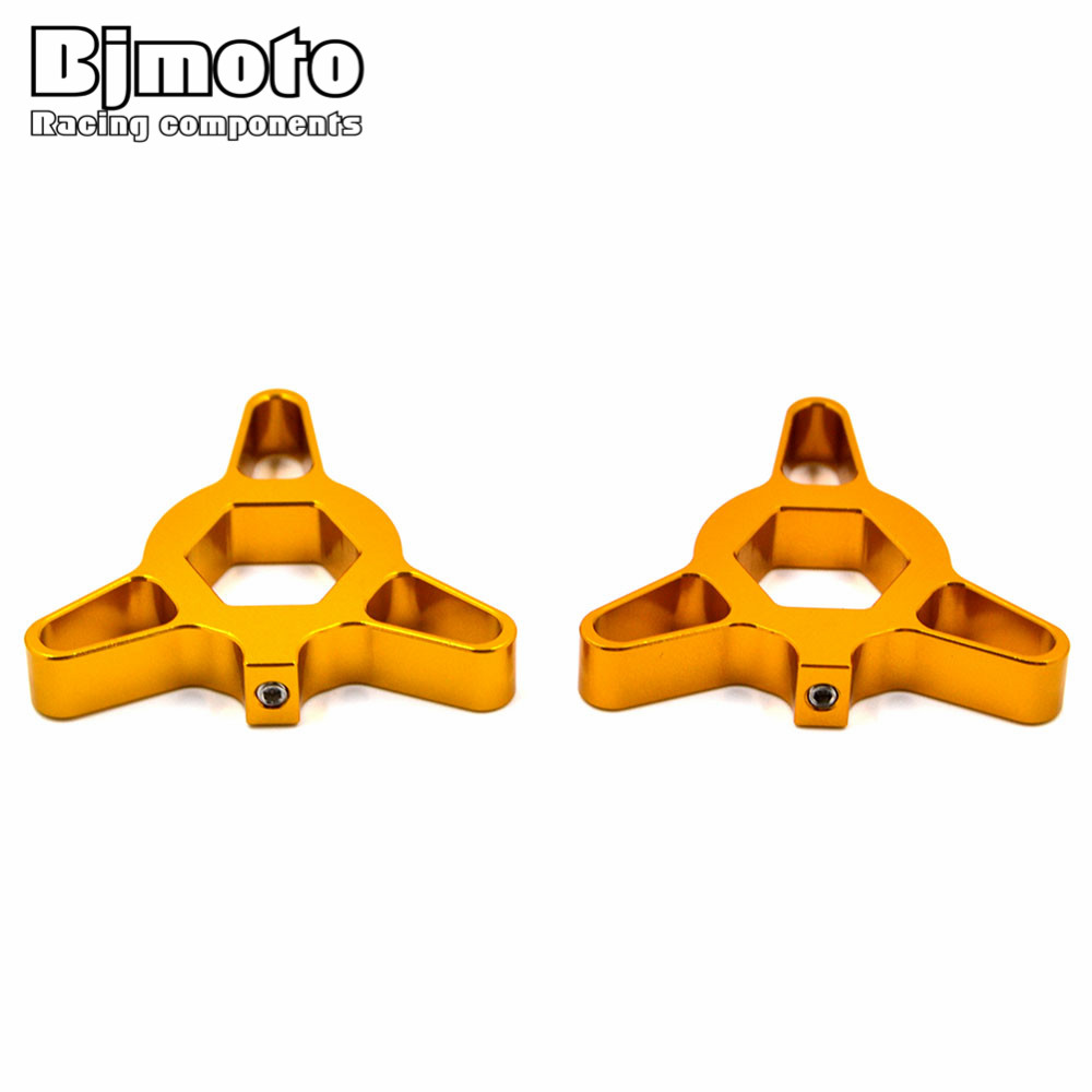 Motorcycle 14MM Fork Preload Adjusters For Kawasaki Z750 ZX6R ZX10R ZX14R for Yamaha FZ1 FAZER YZF R6 R1 цены