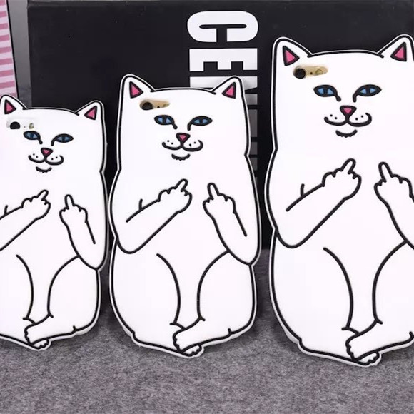 2016 3D Cute Silicone Pink Cartoon Cat Ears Case For iPhone 6 6s Plus 5 5s 5se Soft Animal photo print Cat Back Cover
