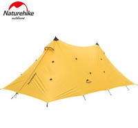 NatureHike Large Size Outdoor Tents Waterproof Family Camping Awning Tent 20D Silicon Party Beach Gazebo Tents Canopy