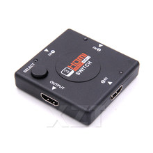 PZ 1 PCS 3 input 1 Output Mini 3 Pelabuhan HDMI Switcher Beralih Kotak Selector Splitter untuk HDTV 1080 P Vedio HDMI KVM Switcher BARU HOT(China)