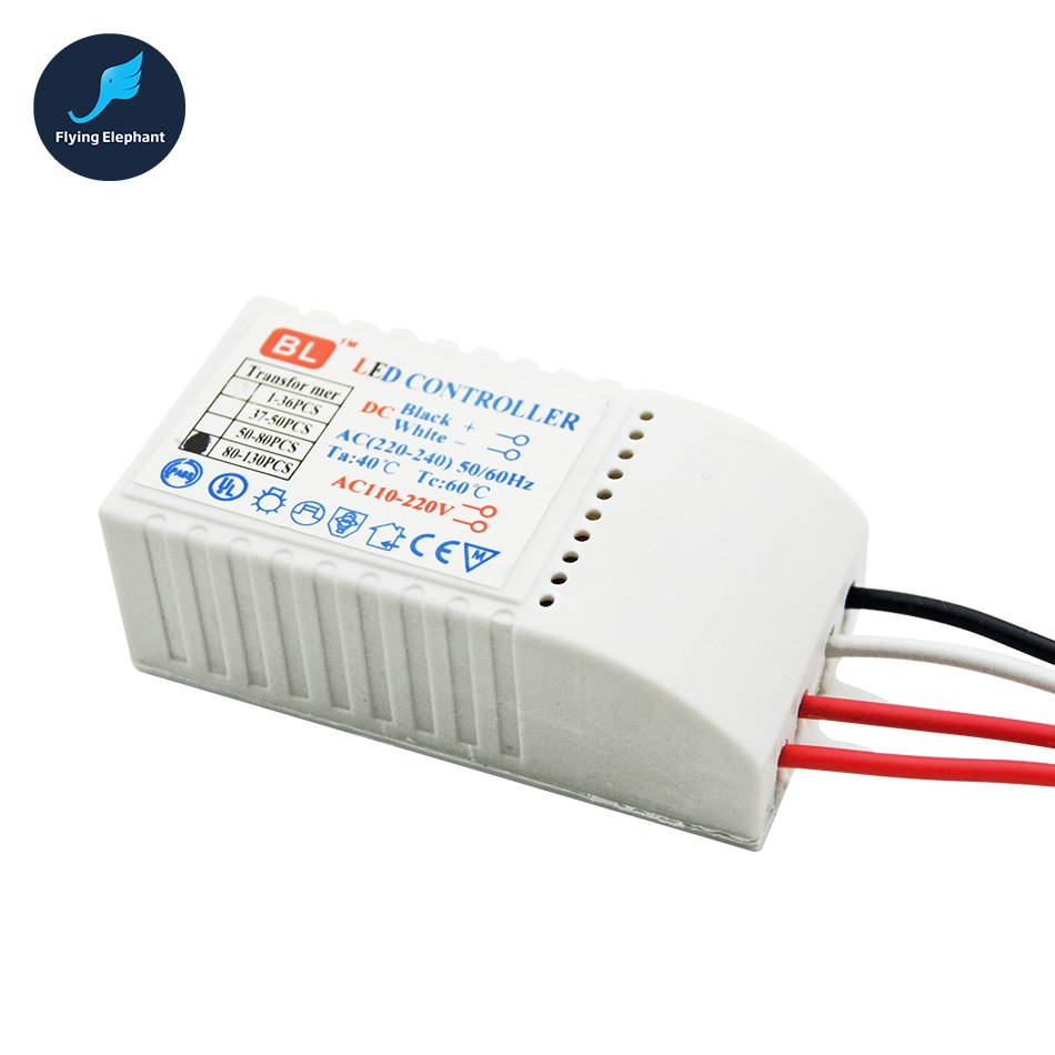 Image 3 - LED Controller Drive 1 130 pcs AC220V LED Transformer Power Supply  LED Beads DC3V Output Low voltage straw hat Lamp-in Lighting Transformers from Lights & Lighting