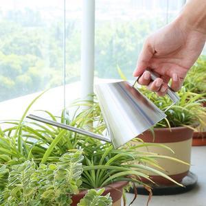 Image 3 - 900ml/400ml Stainless Steel Watering Can Brushed Garden Planting Sprinkler Pot Green Plants Flowers Practical Gardening Tools