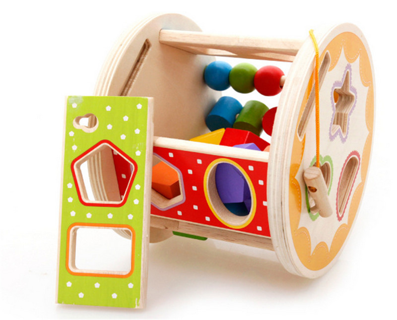 цена на New wooden toy Multifunction Intelligence Box wooden blocks baby educational toy baby gift baby toy Free shipp