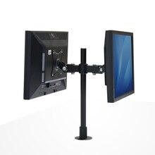 SK009 двойной ЖК-дисплей LED Держатели мониторов впритык втулка рабочего стола крепление Экран дисплея стойки Крепления для телевизоров
