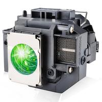 HAPPYBATE projector lamp ELPLP58 for H369A H368A H367A H367B H367C EX7200 EX5200 EX3200 EB X92 X9 X10 EB W9 EB X10 S92 EBS9 S10