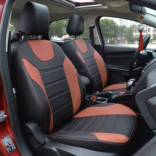Automotive Car Seat Covers Cushion Set Trendy Leather For ROVER 75 MG TF 3