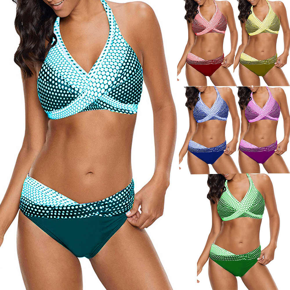b8069e5c7951 7 colores brasileño niñas trajes de baño Bikini Copa pequeña playa ...