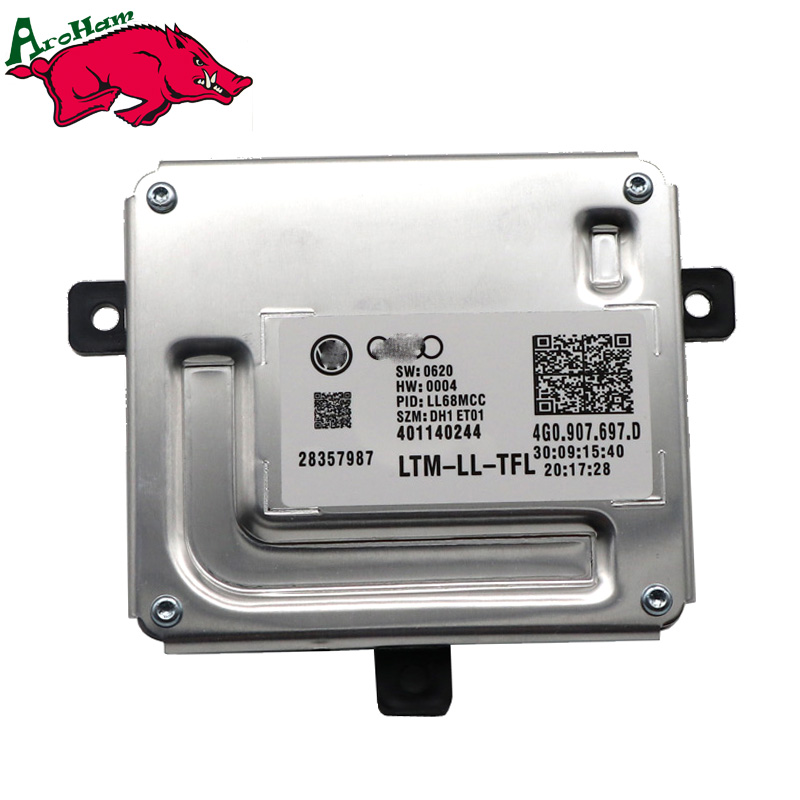 New Brand 100% Work 1Piece LED Driver 4G0.907.697.D 4G0907697D 4G0907397D 4G0.907.397.D 401140244  For Audi-in Car Light Accessories from Automobiles & Motorcycles