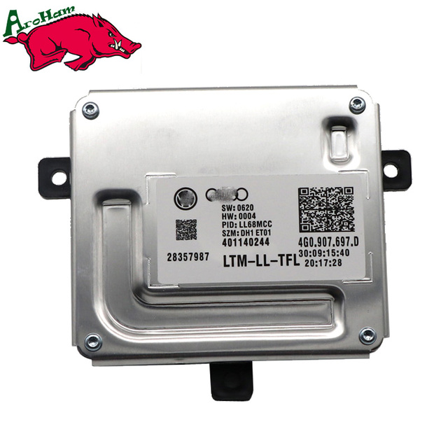 New Brand 100% Work 1Piece LED Driver 4G0.907.697.D 4G0907697D 4G0907397D 4G0.907.397.D 401140244 For Audi