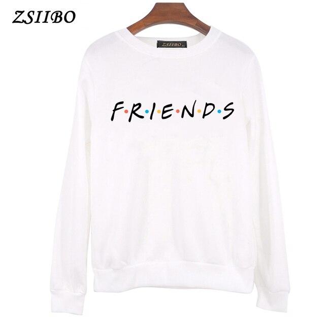 357955b90a Winter Coat Womens Ladies Tracksuit Best Friends Print Clothes Warm Brief  Hooded Harajuku Sweatshirts Top Hoodies