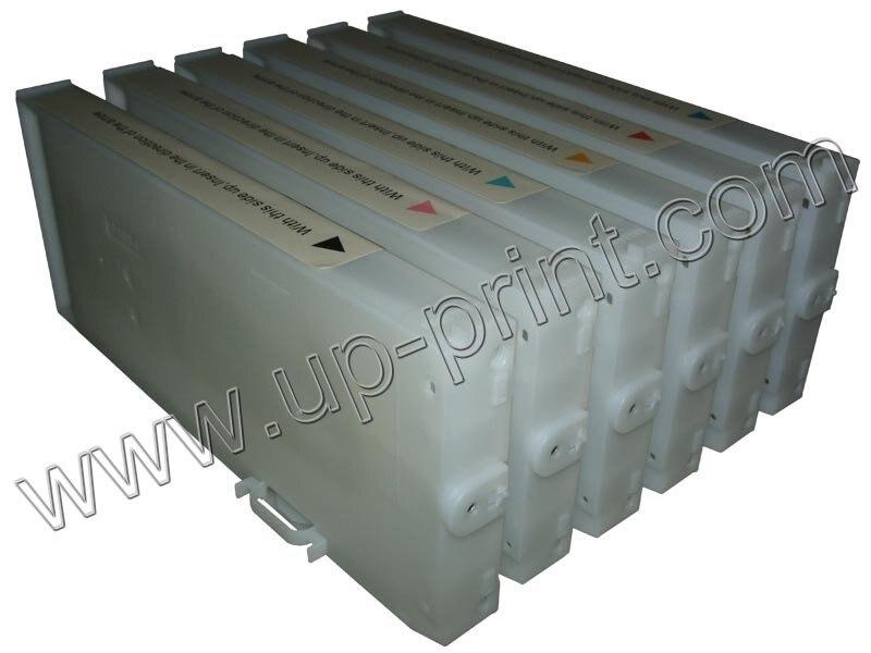 Pro7400 350 мл многоразовые чернильные картриджи/СНПЧ для e pson pro 7400 pro 9400 с чипом+ 1 шт. чип resetter
