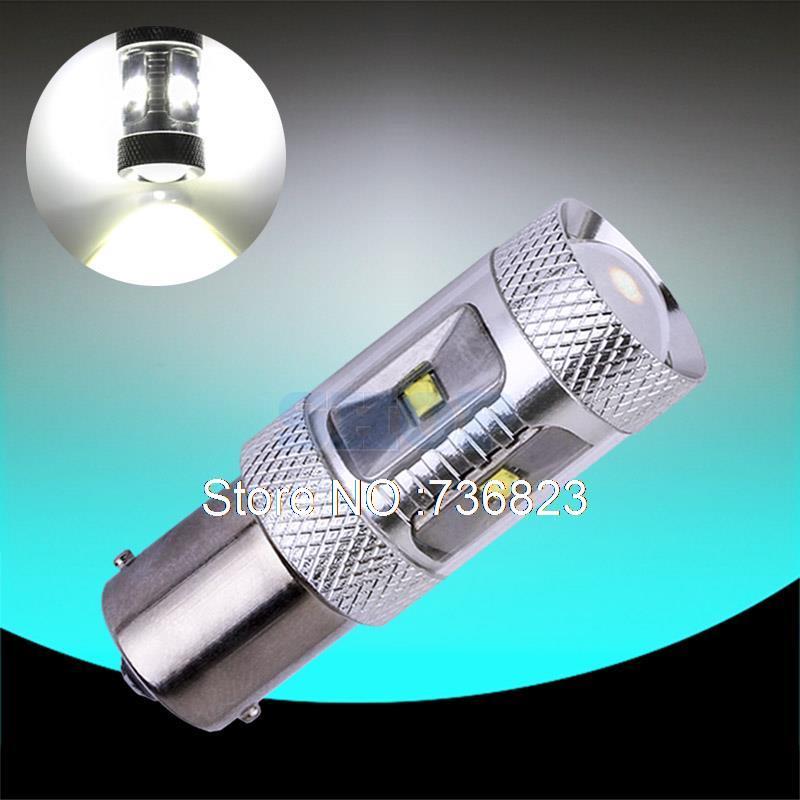 1156 BA15S 30W Auto Fog Tail Turn Cree Chip LED S25 P21W Light R5W Bulb Lamp parking Reserve Lights car light source