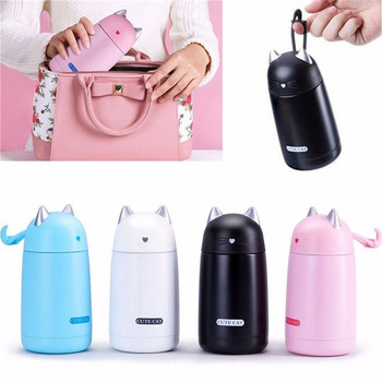 330ml Cute Thermos Cup Cute Cat Insulated Drinkware Vacuum Flask Water Bottle Thermo Cup Thermos Bottle Термос