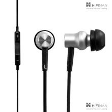 HifiMan Electronics RE-400i In-Ear Headphone with Dynamic Driver for iOS iPhone (Black)