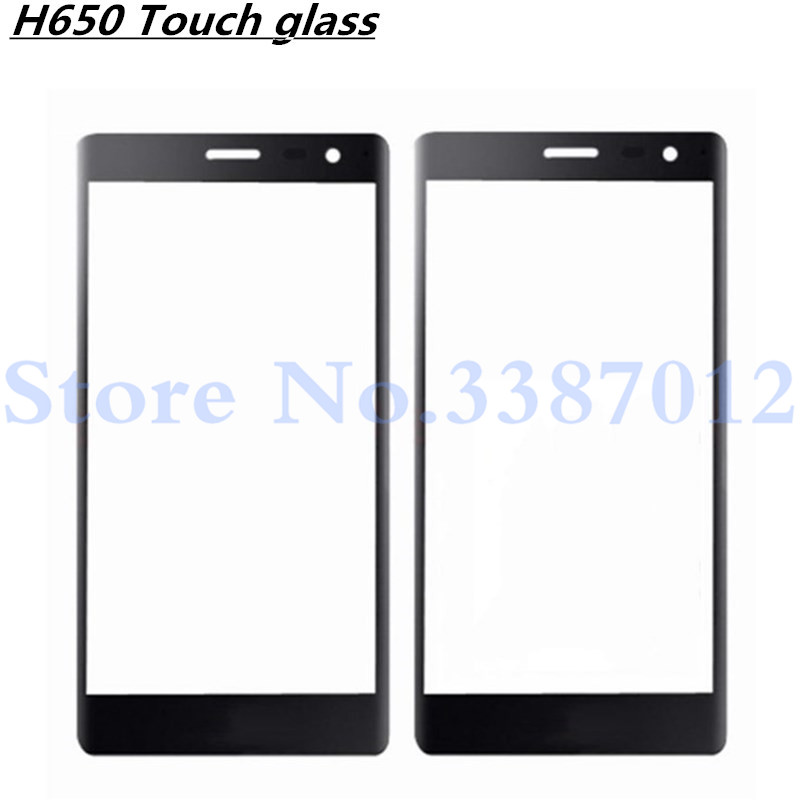 Touch Screen Front Glass Lens Cover For LG Zero H650 H650K H740 H650E Touchscreen Panel Outer Glass