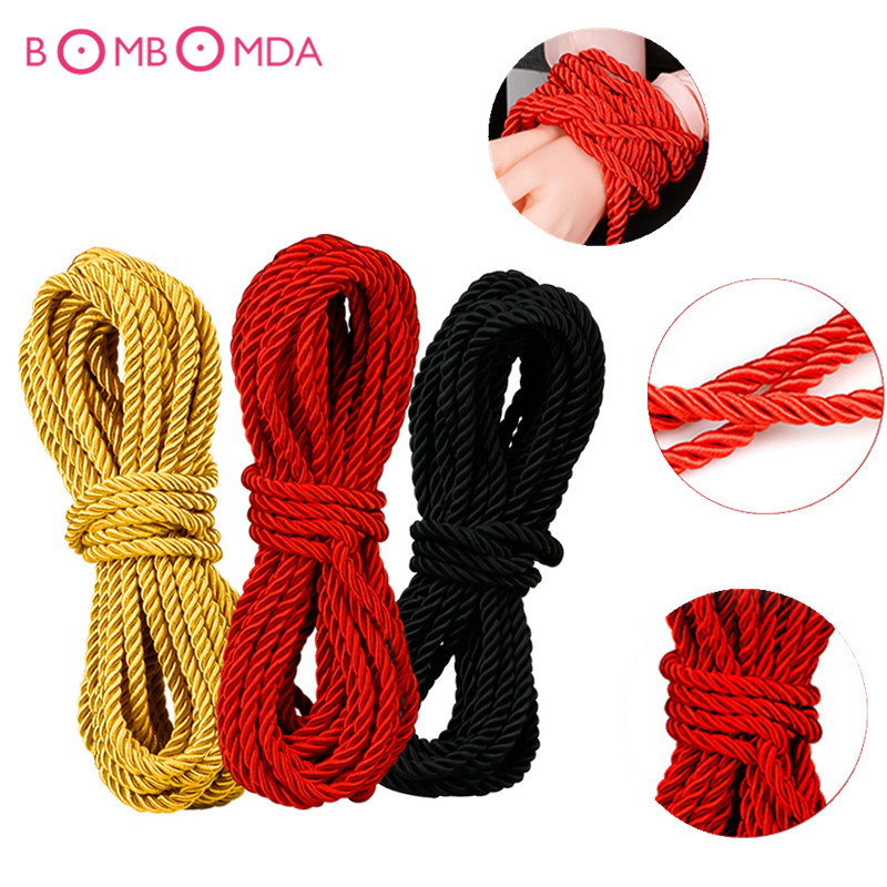 Buy 10M Erotic Positioning Bandage Slave Bondage Rope Restraint Tied Rope Sex Products Couples Adult Games BDSM SM Roleplay