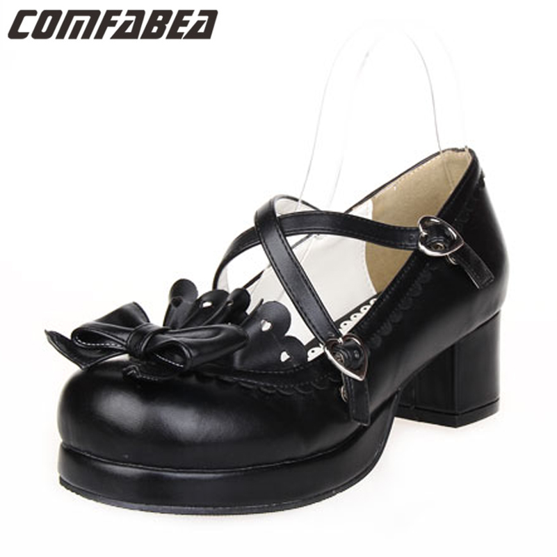 Compare Prices on Chunky Heel Platform Shoes- Online Shopping/Buy ...