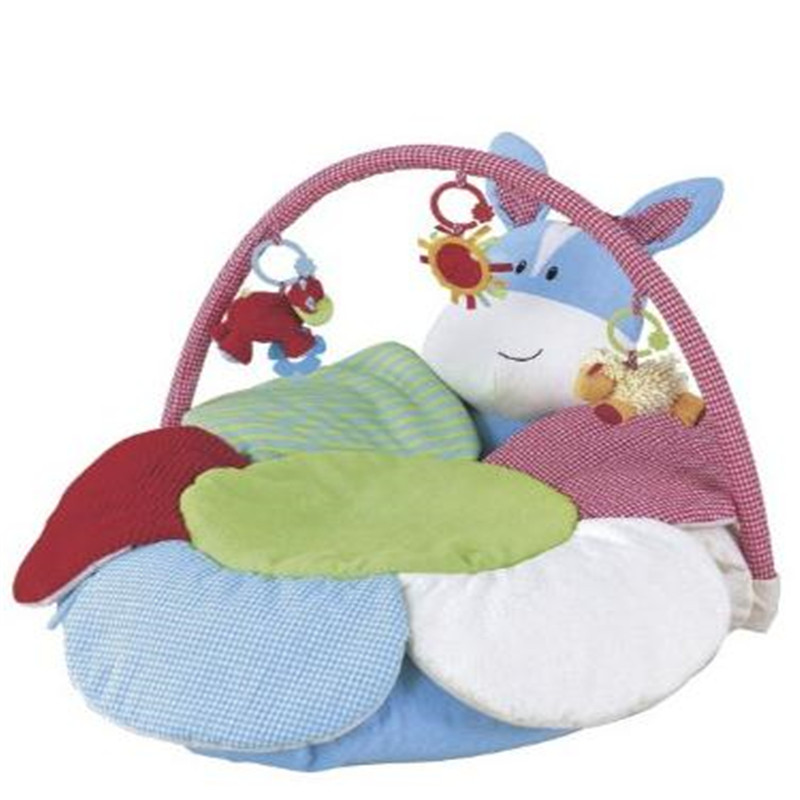 Blue Hippo Inflatable Baby Sofa Seat Blossom Farm Duduk Me Up Cozy Infant Soft Sofa Main Mats EC-006