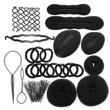 GRACEFUL New Elastic Clamping Hairstyle Entrainment Tied Hair Weaving Hairstyle Braider Tools Sets Kits JUL1