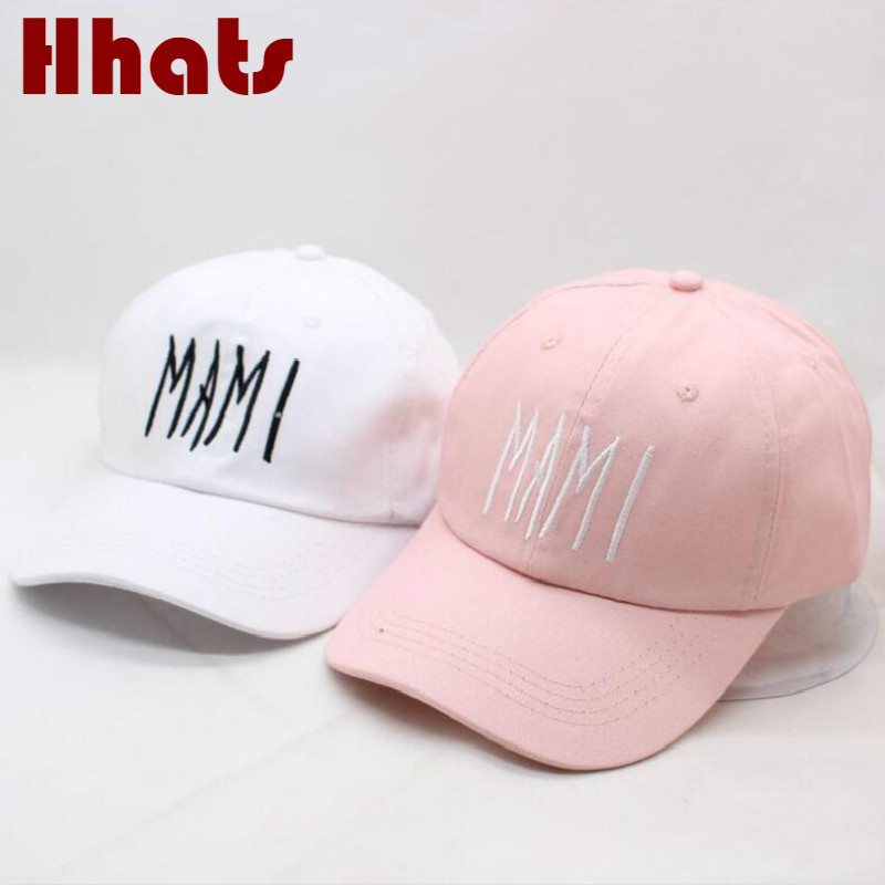 which in shower embroidered MAMI dad hat strapback cotton adjustable snapback  baseball hat cap curved summer 1c7dce12ea29