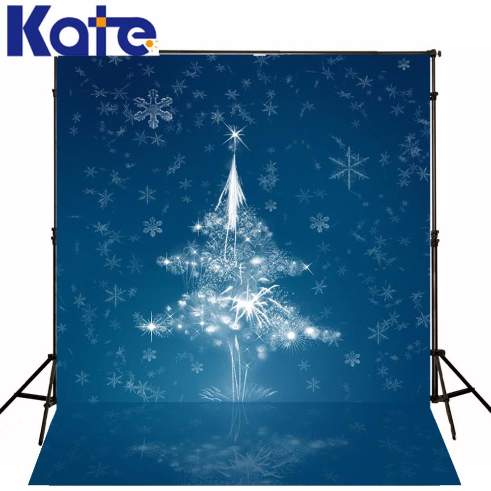 Kate Dark Blue Christmas Backdrops Photography Deramlike Christmas Tree Fond Photographie Backgrounds For Photo Studio