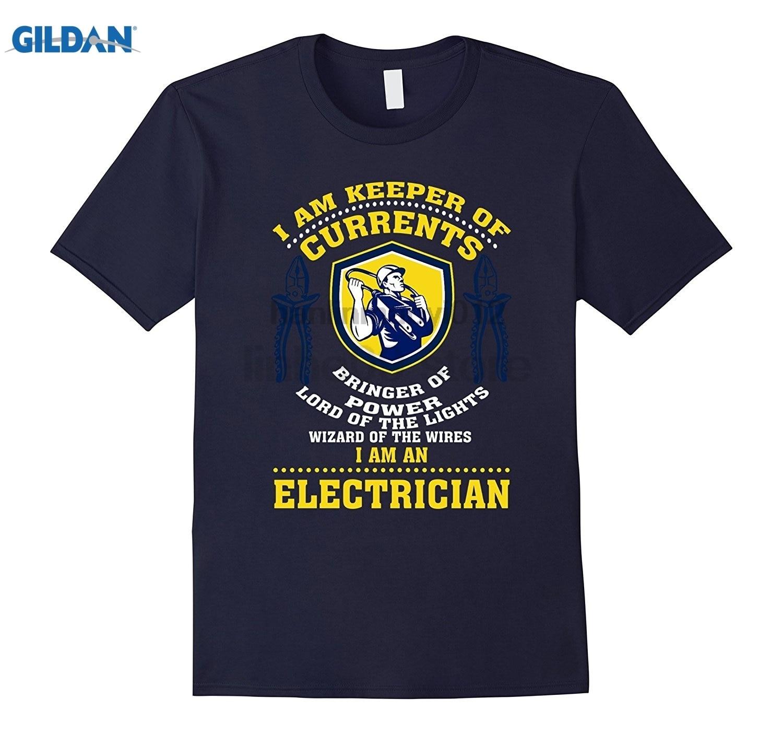 GILDAN I am the keeper of currents bringer of power I am an electr Hot Womens T-shirt Dress female T-shirt