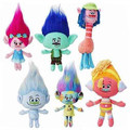 Movie Trolls Plush Toys Dolls Figures Poppy Branch Peluche Stuffed Brinquedos Hot Kids Chidlren Gift 6pcs/lot