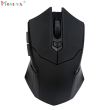 Adroit 2.4GHz Wireless Gaming Mouse USB Receiver Pro Gamer Muis For Laptop PC Computer 15S7308 drop shipping