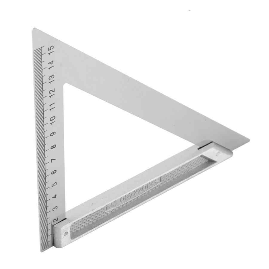 5.9in Triangle Ruler for Woodworking Square Layout Gauge Measuring Tool Woodworking Gauges Protractors