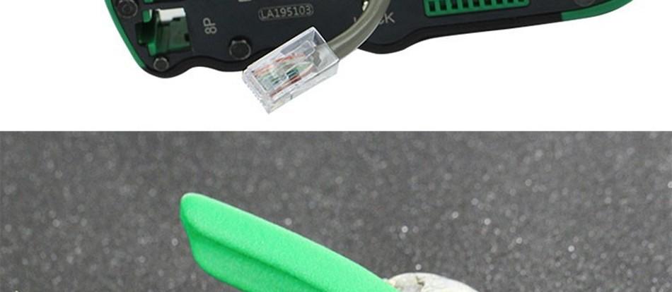 Купить Laoa опрессовка плоскогубцы сети инструменты портативный многофункциональный кабель для зачистки проводов cutter резки опрессовки терминал инструмент дешево