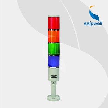 IP33 20 ワット 4 重層内蔵ブザータイプ信号タワーランプ安定した光/工業用 Abs 警告灯 (LTA205-4TJ)