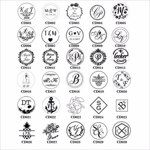 Free-Shipping-Customize-logo-Personalized-image-custom-seal-wax-sealing-stamp-wedding-Invitation-Retro-antique-stamp