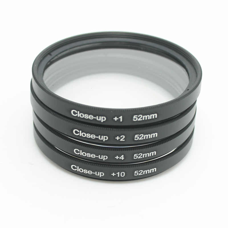 Close Up Makro Filter + 1 + 2 + 4 + 10 Close-UP 37MM 40.5MM 43MM 49MM 52MM 55MM 58MM 62MM 67MM 72MM 77MM untuk Canon Nikon sony Kamera