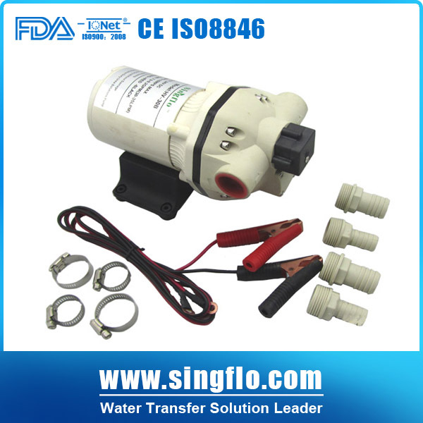 Singflo HV 30A 12V high flow rate continuous working water pump chemical pump