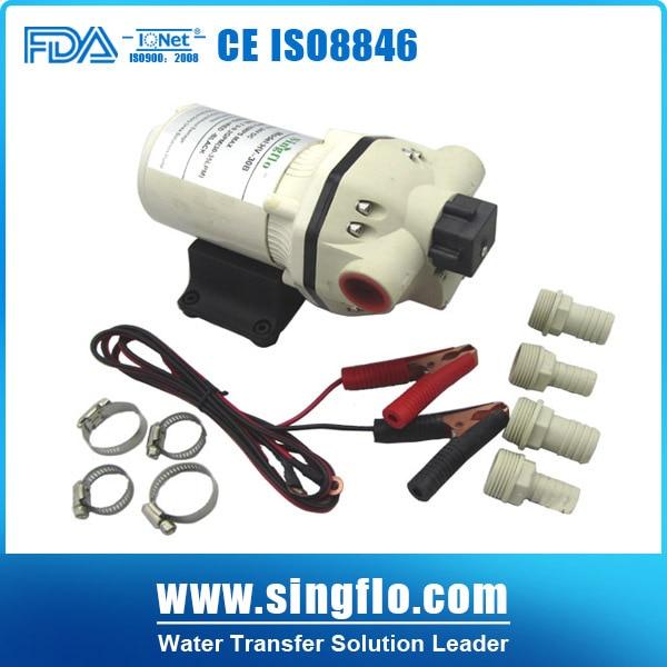 Singflo HV-30A 12V high flow rate continuous working water pump/chemical pump тепловентилятор aeroheat hv p3 e1