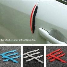 4 Packs Car Anti-collision Strip Door Edge Prevent Buffer Trim Scratches Protector