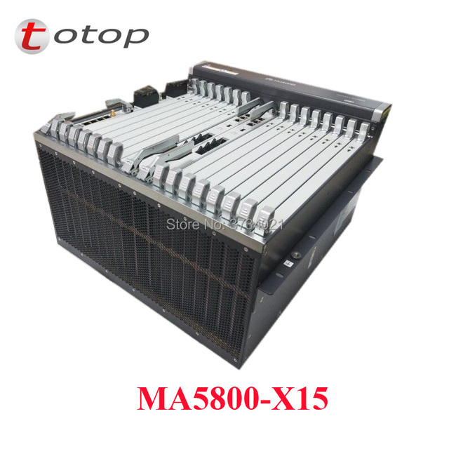 Original hua wei MA5800-X15, 10g  FTTH  GPON/EPON OLT PILA*2 MPLA*2 with best quality